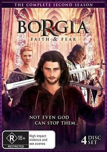 Borgia - Faith And Fear : Season 2 (DVD, 2015, 4-Disc Set) - Brand New & Sealed