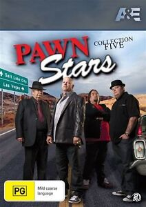Pawn-Stars-Collection-5-DVD-2013-2-Disc-Set-brand-new-free-post