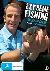 Extreme Fishing With Robson Green : Season 3 (DVD, 2012, 3-Disc Set)