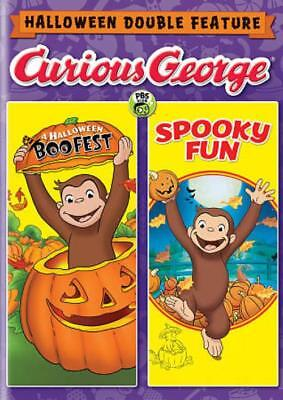 CURIOUS GEORGE: HALLOWEEN DOUBLE FEATURE - A HALLOWEEN BOO FEST/SPOOKY FUN NEW - Curious George Halloween Boo Fest Movie