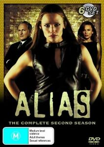 Alias : Complete Second Season 2 - NEW+SEALED DVD movie - fast free post