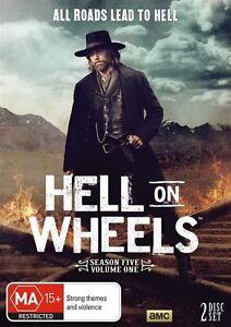 Hell On Wheels - Season 5 Part 1 : NEW DVD