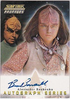 Star Trek The Next Generation Profiles A17 Brian Bonsall Autograph