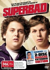 Superbad  - Extended Version (DVD, 2008, 2-Disc Set) R4 PAL NEW FREE POST