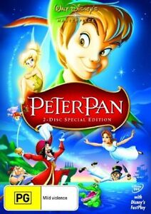 Peter Pan (DVD, 2007) 2 disc special edition.