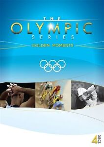 The Official Olympic Series - Golden Moments (DVD, 2012, 4-Disc Set) New & Seald