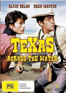 Texas Across The River (DVD, 2009)*Dean Martin*Alain Delon*New & Sealed*R4*