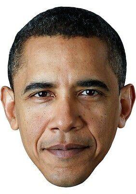 Obama Face Mask (Barack Obama Cardboard Face Mask)