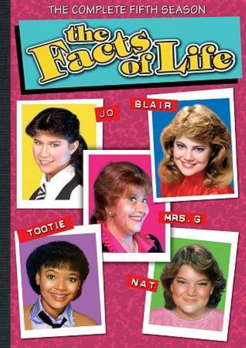 THE FACTS OF LIFE: SEASON 5 NEW DVD