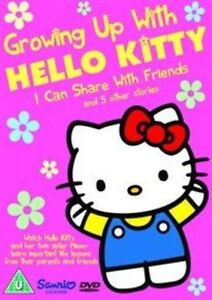 Growing Up With Hello Kitty - I Can Share With Friends (DVD, 2013)
