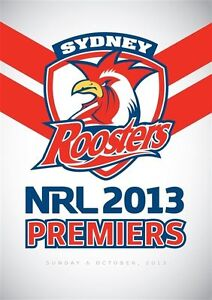 NRL - Grand Final 2013 Sydney Roosters (DVD, 2013) New  Region 4