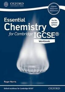 Essential Chemistry for Cambridge IGCSE Workbook by Roger Norris (Paperback,...