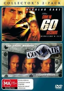 Gone In 60 Seconds  / Con Air  ( DVD  2-Disc Set )