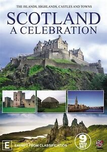 A Scotland - Celebration (DVD, 2015, 11-Disc Set) - Like New