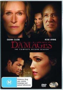 Damages : Season 2 (DVD, 2009, 3-Disc Set) *New & Sealed* Region 4