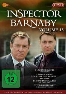 Inspector Barnaby - Volume 15 2012   4DVDs  NEU OVP