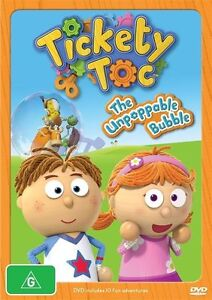 Tickety Toc - The Unpoppable Bubble (DVD, 2013)-REGION 4-NEW SEALED free post!
