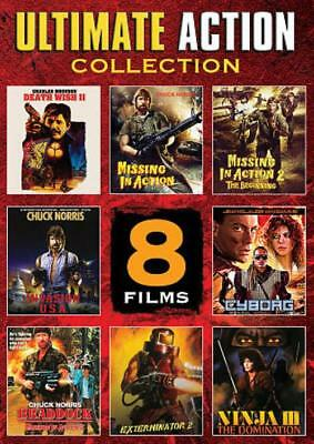 ULTIMATE ACTION COLLECTION: 8 FILMS NEW DVD