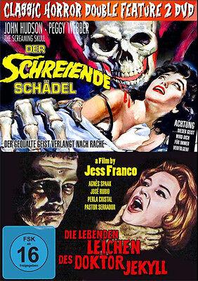 2er Kult Horror DIE LEBENDEN LEICHEN DES DR JEKYLL + DER SCHREIENDE SCHÄDEL DVD