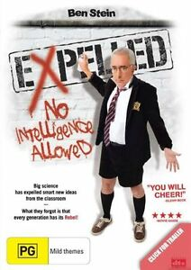 Expelled - No Intelligence Allowed (DVD, 2009) 'NEW & SEALED'