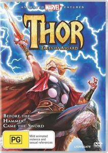 Thor-Tales-Of-Asgard-DVD-2011-Brand-New-Not-Sealed-Region-4