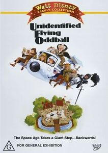 UNIDENTIFIED FLYING ODDBALL DVD=DISNEY=REGION 4 AUSTRALIAN= as NEW