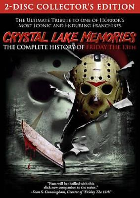 "CRYSTAL LAKE MEMORIES: THE COMPLETE HISTORY OF ""FRIDAY THE 13TH"" NEW DVD"