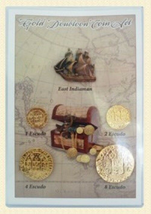 Gold Doubloons - Museum Tokens