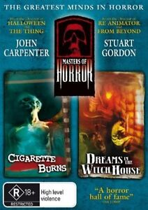 Masters Of Horror - Cigarette Burns / Dreams In The Witch House (DVD, 2006)