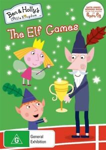 Ben & Holly's Little Kingdom: The Elf Games DVD R4