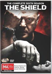 Shield Complete seasons series 6 DVD R4 New & Sealed