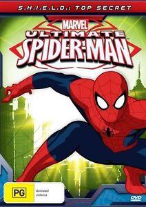 Ultimate Spider-Man - S.H.I.E.L.D. -Top Secret (DVD, 2013)-REGION 4-Free postage