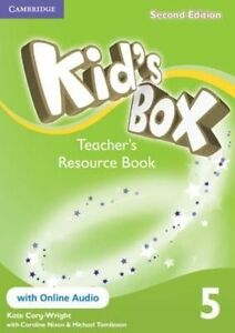 Kid's Box Level 5 Teacher's Resource Book with Online Audio, Cory-Wright, Kate,