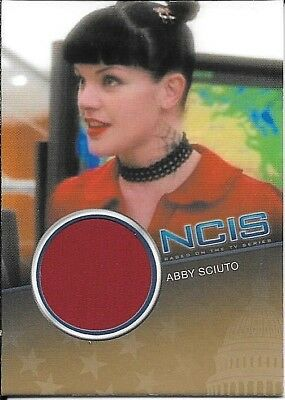 Abby Costume Ncis (2012 Rittenhouse NCIS #CC6 Pauley Perrette as Abby Sciuto Costume Relic)