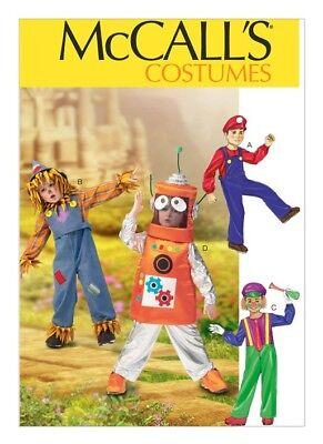 McCall Schnittmuster M6814/CDD - Kostüm Muster Kinder