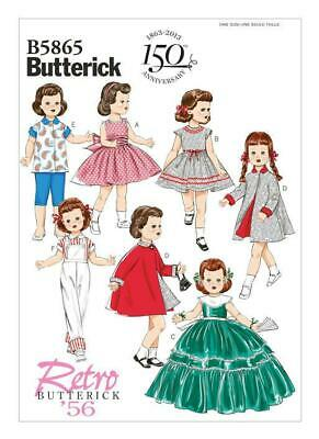 Butterick Sewing Pattern 5865 Retro Outfits 18