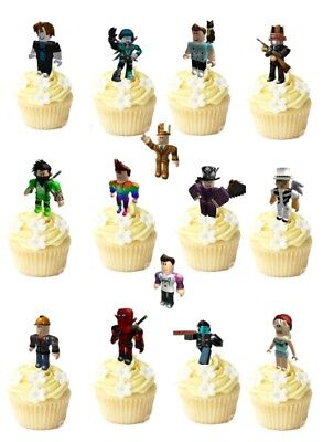 AND UPS wafer edible cup/cake toppers party PRE - CUT (Party Standups)