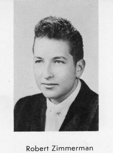1950s BOB DYLAN Inscribed & Signed High School Yearbook~signed Bob Zimmerman ++