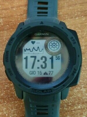 Garmin Instinct Solar Orologio GPS smartwatch sportwatch 010-02293-00 + garanzia