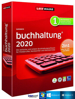 Lexware Buchhaltung 2020 Vollversion + Handbuch (PDF), Updates Download NEU