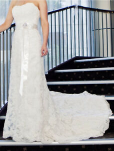 Wedding Dress Sz 12 (Maggie Sottero) $650 OBO