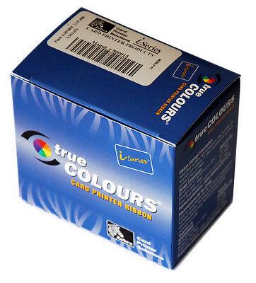 Zebra Plastikkarte Drucker (Zebra Farbband weiß 800015-109 Plastik Kartendrucker P330i 430i)