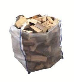 Hardwood logs bulk bag £60 call 07496958726