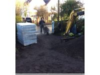 Mini Digger, lorry and Driver hire