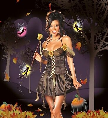 Dreamgirl Women's Halloween Costume Forest Nymph Fairy   NEW M Medium