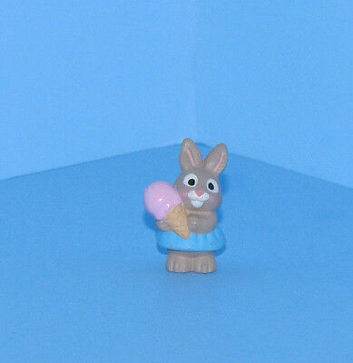 Hallmark Merry Miniatures Bunny with Ice Cream Cone Mini