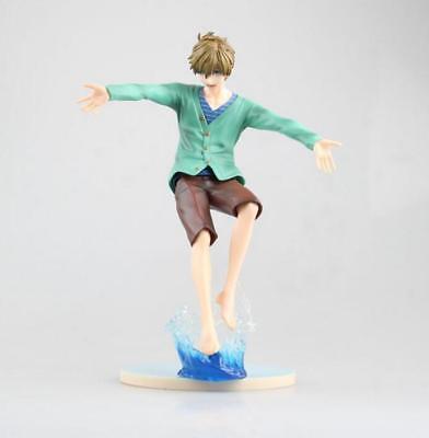 New Anime Free  Iwatobi Swim Club Makoto Tachibana Pvc Figure Toy Gift