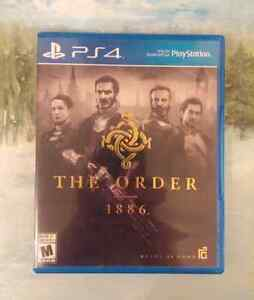 The order 1886 PS4 $10.00