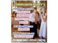 COMMUNION DISCO PARTY'S
