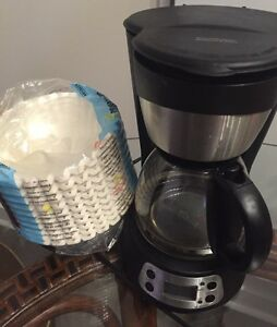 Timer Coffee Maker with 450 Filters 5 Cup